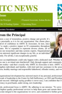 AMTC & Associates September 2015 Newsletter